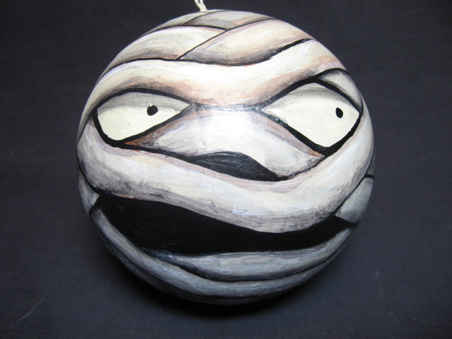 Mummy Halloween Ornament